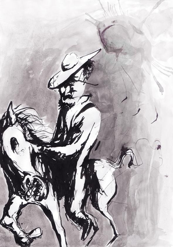 caballo tinta tocado_chico