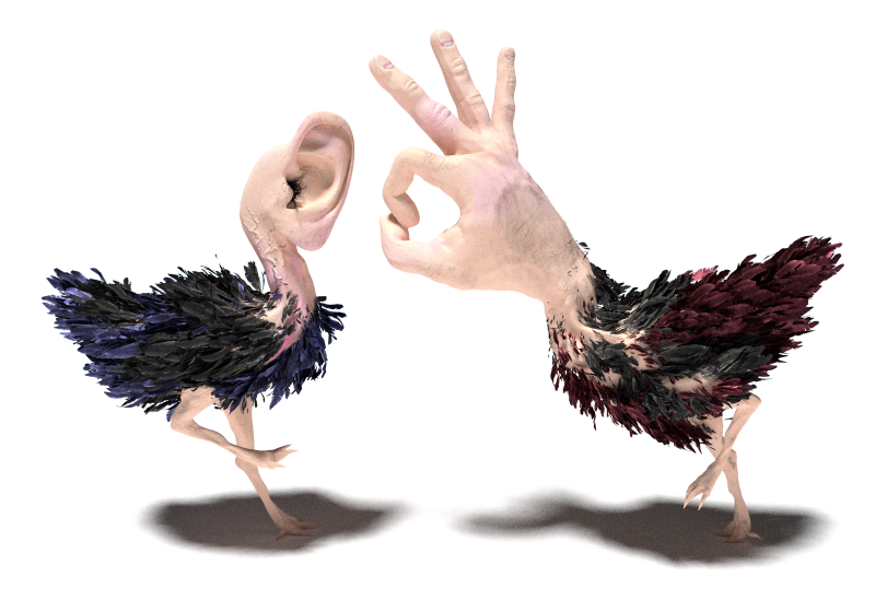 hand and ear 2