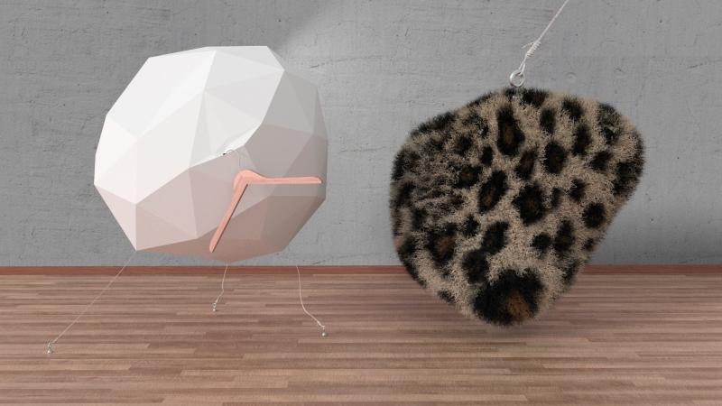 leopardo y geometric